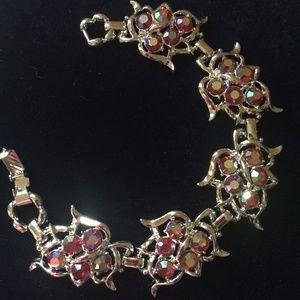 Vintage Retro Bracelet Sarah Coventry Red